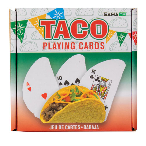 Taco Shaped Playing Cards