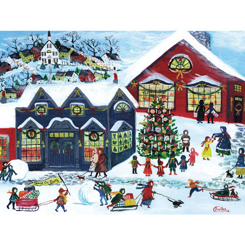 Peace On Earth 300 Large Piece Jigsaw Puzzle