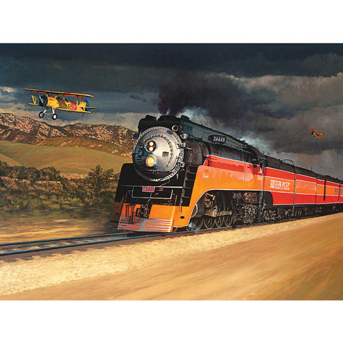 Chasing The Daylight 300 Large Piece Jigsaw Puzzle