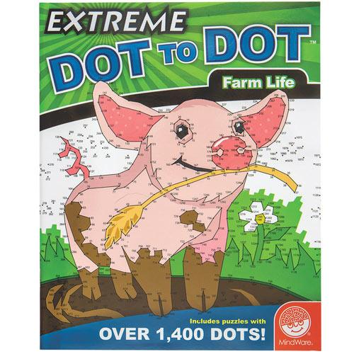 Extreme Dot to Dot Book - Farm Life