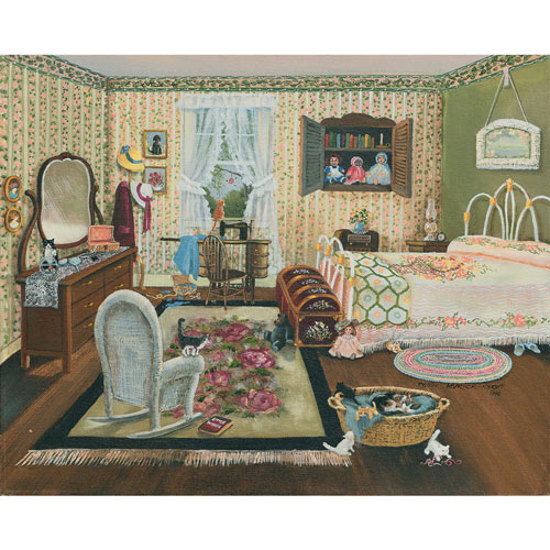 The Bedroom 300 Large Piece Jigsaw Puzzle