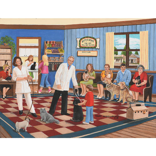 The Veterinarian 300 Large Piece Jigsaw Puzzle