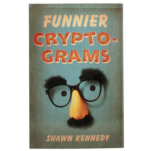 Cryptogram Puzzle Book - Funnier