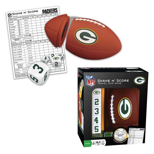 NFL Shake n' Score Game - Green Bay Packers