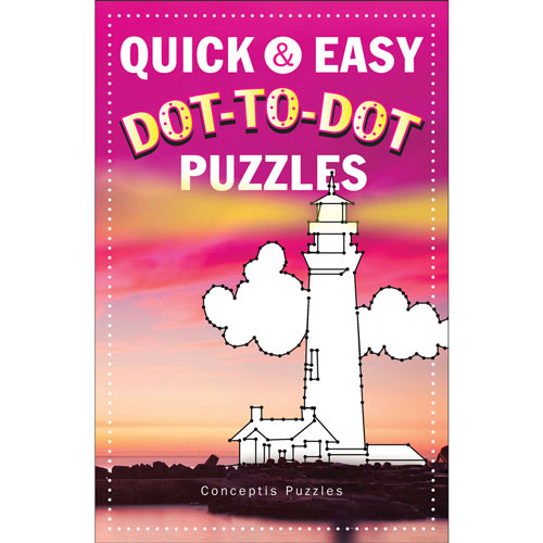 Quick and Easy Dot-to-Dot Puzzle Books