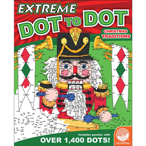Extreme Dot-to-Dot Book - Christmas Traditions