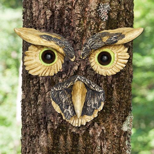 Owl Tree Face