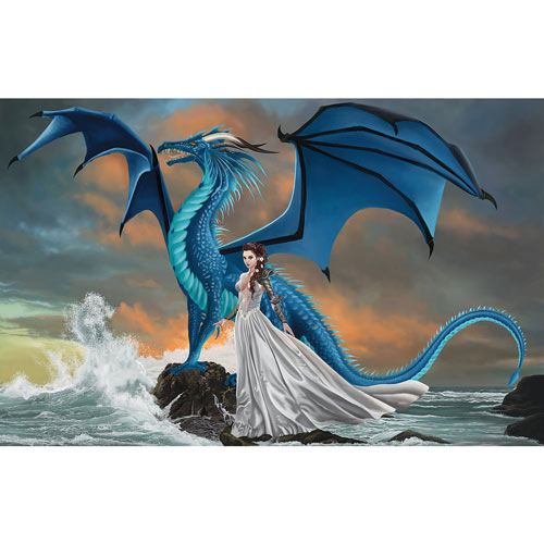 Water Dragon 1000 Piece Jigsaw Puzzle