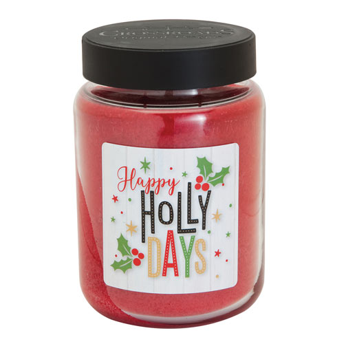 Happy Holly Days Scented Candle