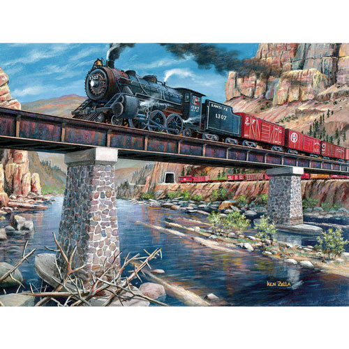 Stone Steel & Steam 300 Large Piece Jigsaw Puzzle