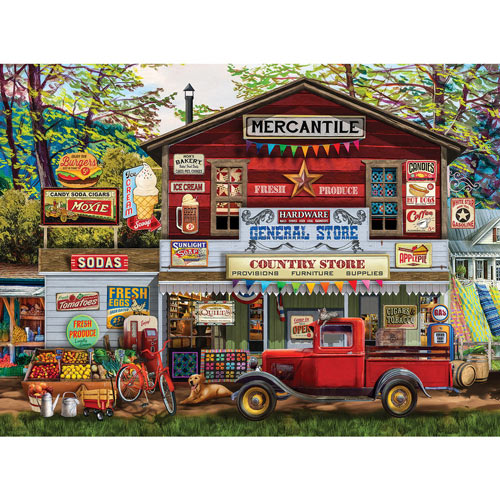 Open For Business 300 Large Piece Jigsaw Puzzle