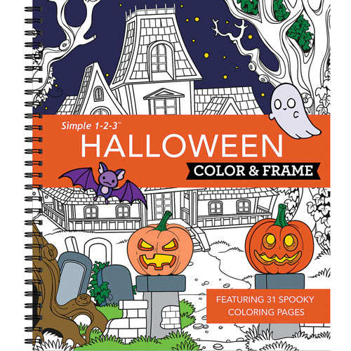 Color & Frame Book - Halloween
