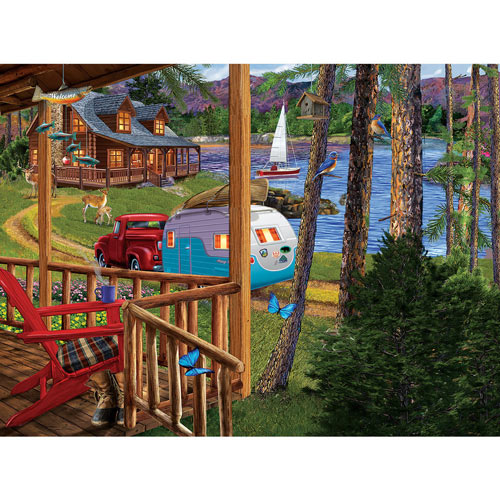Returning Home 300 Large Piece Jigsaw Puzzle