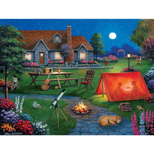 Kid's Night Out 300 Large Piece Jigsaw Puzzle