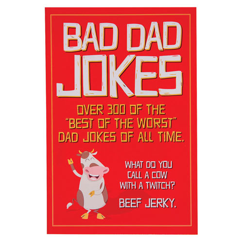 Bad Dad Jokes Book