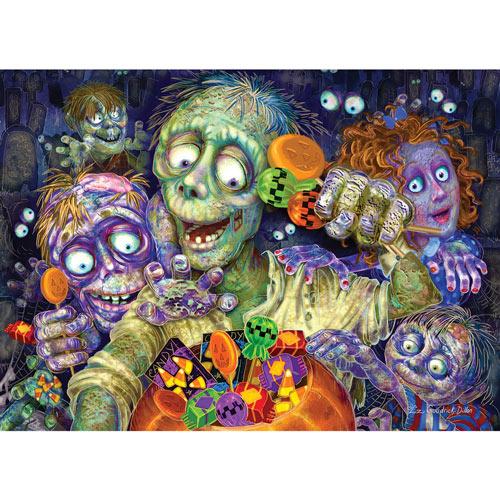Zombies Like Candy 1000 Piece Jigsaw Puzzle