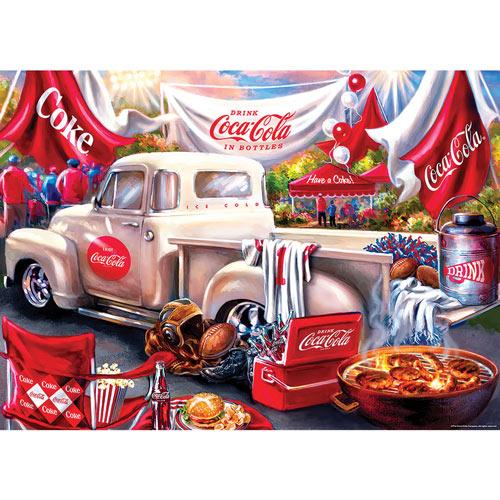 Coca-Cola Tailgate 1000 Piece Jigsaw Puzzle