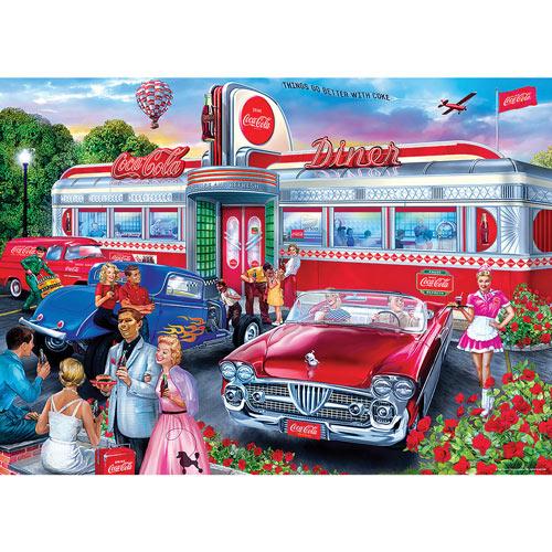 Coca-Cola Diner 1000 Piece Jigsaw Puzzle
