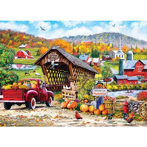 Old Creek Bridge 1000 Piece Jigsaw Puzzle