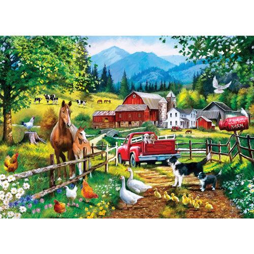 White Dove Farm 1000 Piece Jigsaw Puzzle