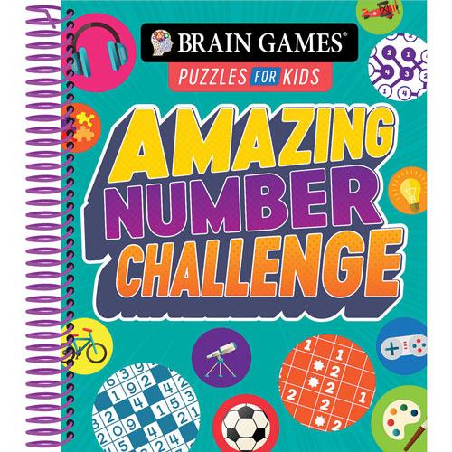 Amazing Number Challenge Puzzle Book