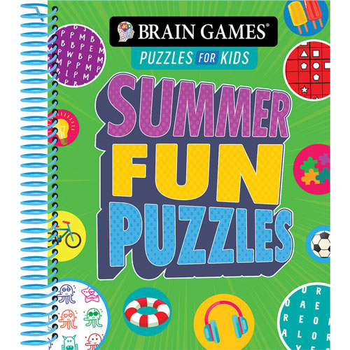 Summer Fun Puzzles Book