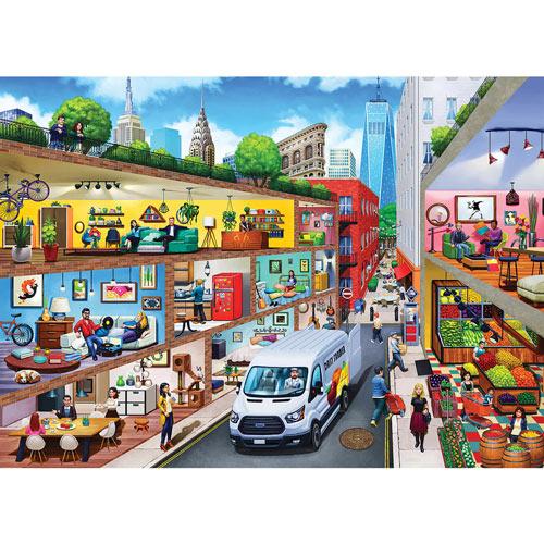 City Living 1000 Piece Jigsaw Puzzle