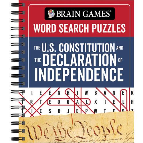 U.S. Constitution & Declaration Word Search Book
