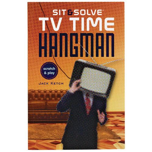 TV Time Hangman Puzzle Book