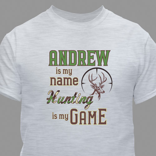 Personalized Hunting T-Shirt