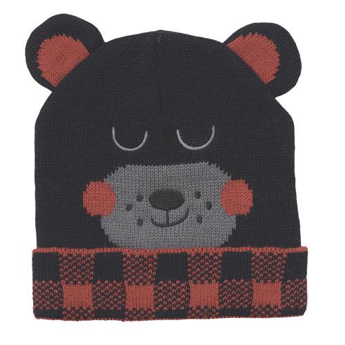 Kids Critter Bear Hat