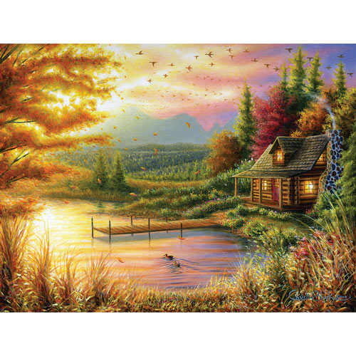 High Country Cinnamon 300 Large Piece Jigsaw Puzzle