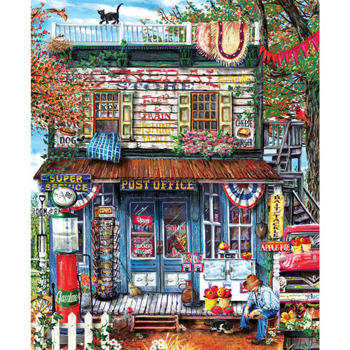 Hanging Out At The General Store 1000 Piece Jigsaw Puzzle