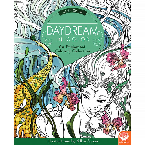 Daydream - Elements Coloring Book