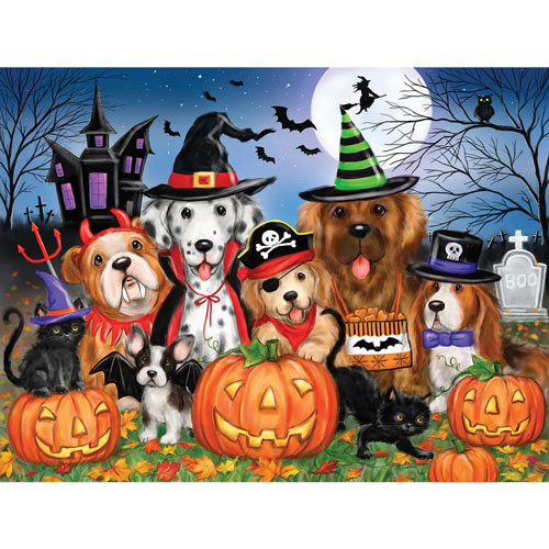 Ready For Halloween 300 Large Piece Jigsaw Puzzle