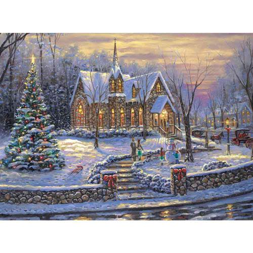Christmas Tree 300 Large Piece Jigsaw Puzzle