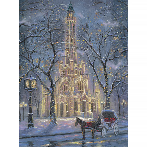 Chicago Water Tower 1000 Piece Jigsaw Puzzle
