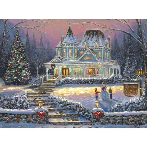 Christmas Cottage 1000 Piece Jigsaw Puzzle