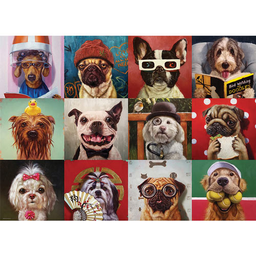 Funny Dogs 1000 Piece Jigsaw Puzzle