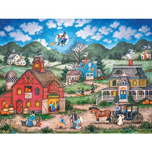 Halloween Hallabaloo 550 Piece Jigsaw Puzzle