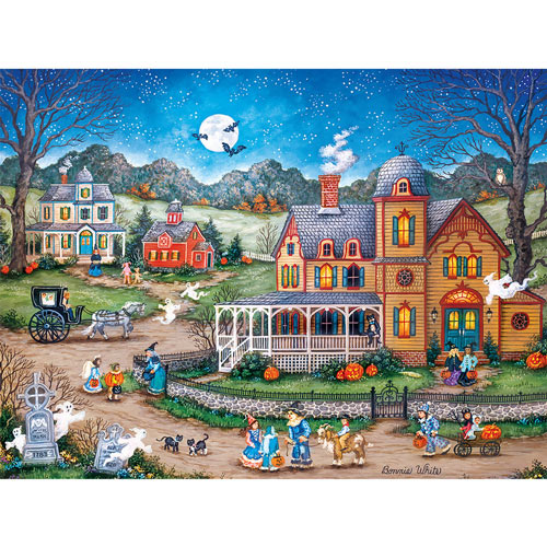 A Ghostly Good Night 550 Piece Jigsaw Puzzle