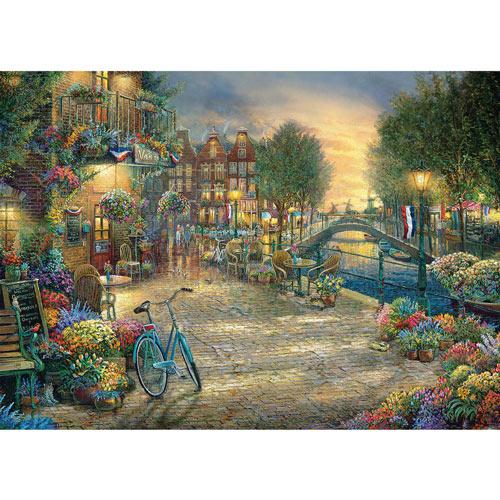 Amsterdam Café 1000 Piece Jigsaw Puzzle