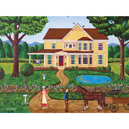 Charlotte's House 550 Piece Jigsaw Puzzle