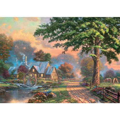 Simple Times II 1000 Piece Jigsaw Puzzle