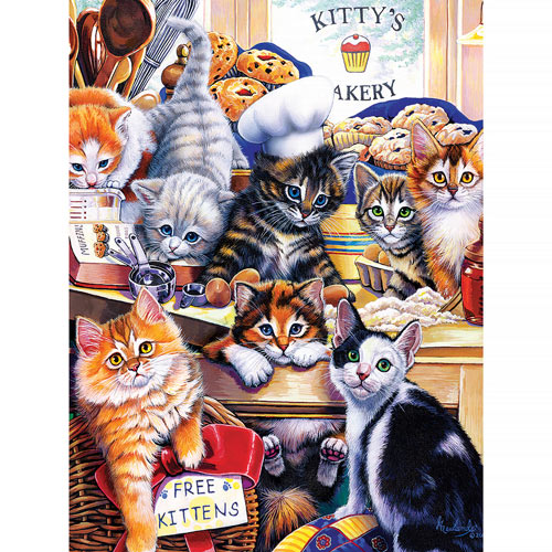 Kitty's Bakery 300 Large Piece Jigsaw Puzzle