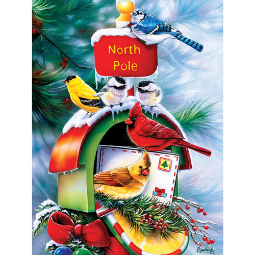 North Pole Delivery 550 Piece Jigsaw Puzzle