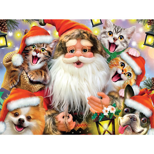 Santa Selfie 550 Piece Jigsaw Puzzle