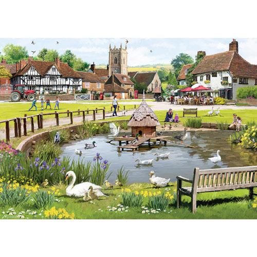 Village 300 Large Piece Jigsaw Puzzle