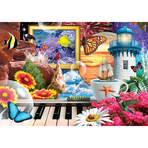 Imagination In Motion 1000 Piece Jigsaw Puzzle