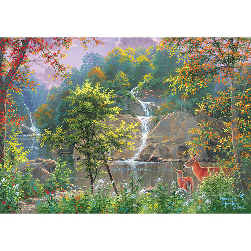 Discovering Nature 1000 Piece Jigsaw Puzzle
